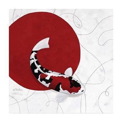 Kunstdruck Red Point Showa 50 x 50cm