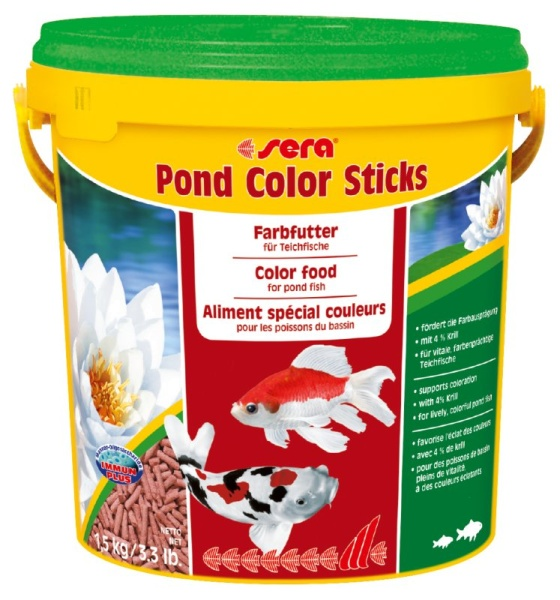 sera pond color sticks